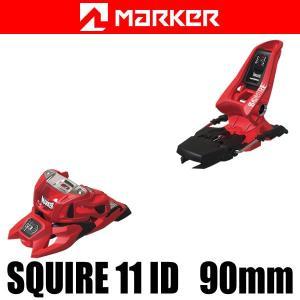 マーカー ビンディング 2018 SQUIRE 11 ID 90mmブレーキ レッド 17-18 MARKER フリースタイル ビンディング スクワイヤ11 ID|websports