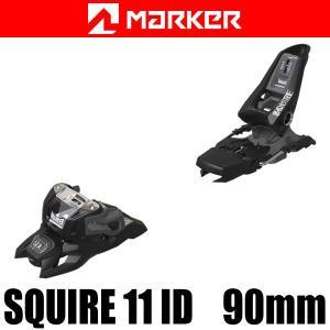 マーカー ビンディング 2018 SQUIRE 11 ID 90mmブレーキ ブラック 17-18 MARKER フリースタイル ビンディング スクワイヤ11 ID|websports