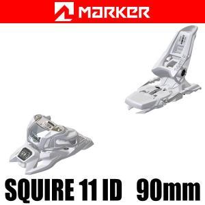 マーカー ビンディング 2018 SQUIRE 11 ID 90mmブレーキ ホワイト 17-18 MARKER フリースタイル ビンディング スクワイヤ11 ID|websports