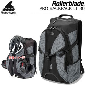 ローラーブレード インライン バッグ  2020  PRO BACKPACK LT 30 Grey  容量30L  インライン1足装着可能  06R82200081  ROLLERBLADE|websports