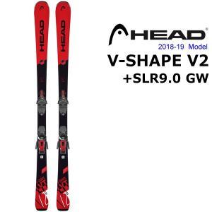 HEAD・ヘッド V-SHAPE V2(RED)         HEADが考案した快適にスキーを操...