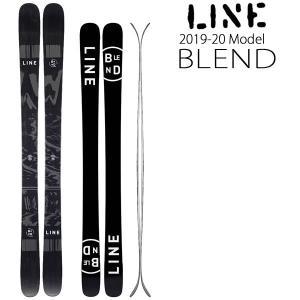 LINE スキー 2020 BLEND ブレンド 19-20 ラインスキー板  パークでトリックをす...