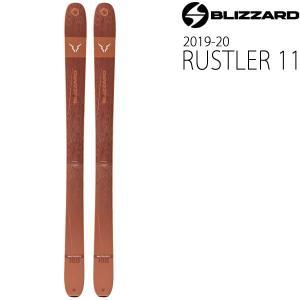 ブリザード スキー 2020 blizzard スキー板 19-20  RUSTLER 11 (ラス...