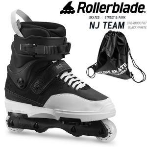 ローラーブレード インライン  2020  NJ TEAM  Balck-White  07848000787  アグレッシブ フリースタイル メンズ 男性用 ROLLERBLADE|websports
