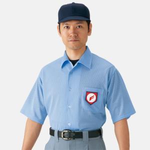 ミズノ高校野球・ボーイズリーグ審判員用 半袖シャツ 52HU2418|webtrade