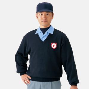 ミズノ高校野球・ボーイズリーグ審判員用 V首セーター 52SU4414|webtrade