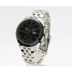 ORIS 腕時計 オリス 67476614434M アーティックスGT ブラック クロノグラフ webtrade