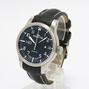 フォルティス 腕時計 F-43 フリーガー ビッグデイデイト 700.10.81 自動巻 webtrade