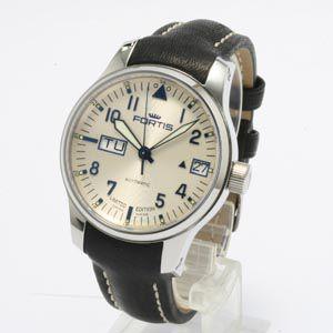 フォルティス 腕時計 F-43 フリーガー ビッグデイデイト 700.20.92 自動巻 webtrade