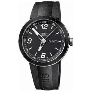 オリス 腕時計 ORIS 自動巻 TT1 デイデイト メンズ 735 7651 4174R webtrade