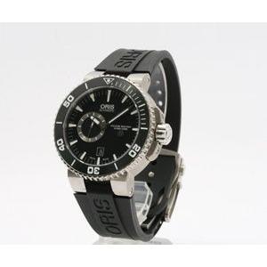 ORIS 腕時計 オリス 74376647154R アクイス チタン ブラック ラバー|webtrade