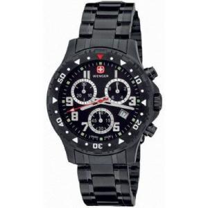 ウェンガー 腕時計 オフロード クロノグラフ ブラックメタ 79359W webtrade