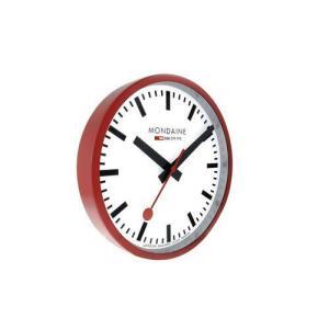 MONDAINE モンディーン 掛け時計 ウォールクロック レッド A990.CLOCK.11SBC|webtrade