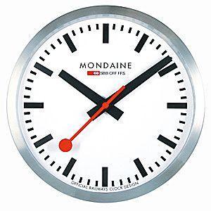 MONDAINE モンディーン ウォール クロック A990.CLOCK.16SBB|webtrade