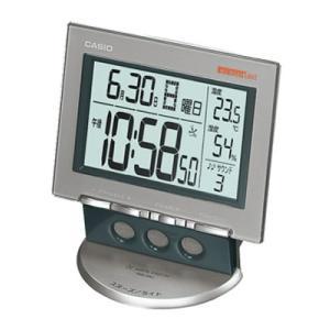 CASIO カシオ 置き時計 電波 シルバー DQD-330J-8JF webtrade