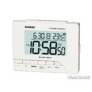 CASIO カシオ 置き時計 電波 温度計/湿度計 ホワイト DQD-80J-7JF webtrade