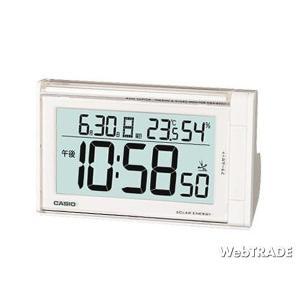 CASIO カシオ 置き時計 ソーラー電波 温度計 ホワイト DQS-600J-7JF webtrade