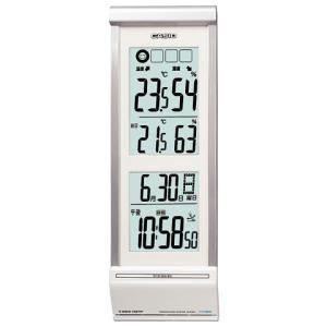 CASIO カシオ 置き時計 電波 パールシルバー IDL-300NJ-8JF webtrade