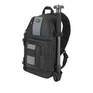 ロープロ Lowepro カメラバッグ スリングショット202AW  ブラック|webtrade