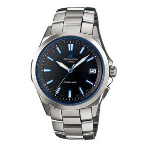 国内正規品カシオ 腕時計 オシアナス OCEANUS ブラック メンズ  OCW-S100-1AJF|webtrade