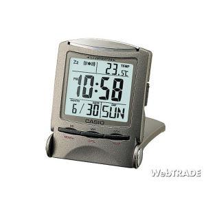 CASIO カシオ 置き時計 温度計 パールホワイト PQ-50J-8 webtrade