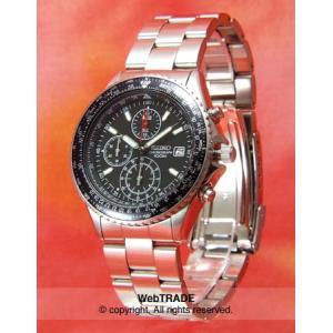 セイコー 海外モデル SEIKO 腕時計 パイロット クロノグラフ SND253P1|webtrade
