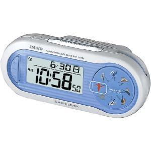 CASIO カシオ 置き時計 電波 ブルー SQD-1000J-2JF webtrade