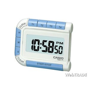 CASIO カシオ 壁掛け時計 タイマー パールホワイト TMR-71-7JH webtrade