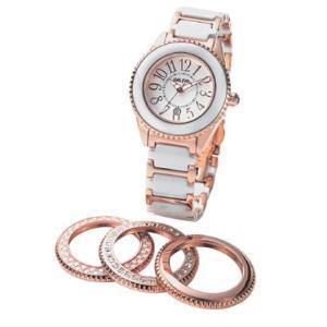 フォリフォリ 腕時計 ホワイト  WF0B033BDW|webtrade