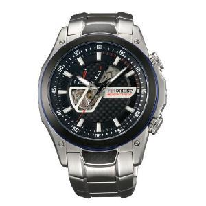 予約 オリエント 腕時計 ORIENT スピードテック 自動巻き メンズ セミスケルトン WV0011DA|webtrade