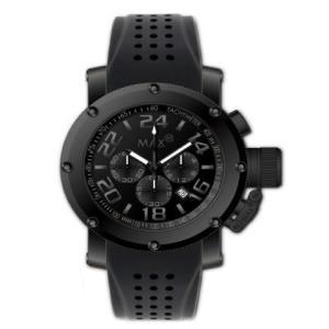 マックス 腕時計 MAX ブラック クロノグラフ MAX484|webtrade