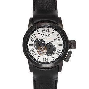 マックス 腕時計 MAX ブラック オートマチック 自動巻 MAX528|webtrade