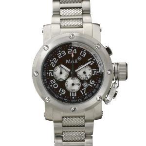 マックス 腕時計 MAX シルバー クロノグラフ MAX480|webtrade