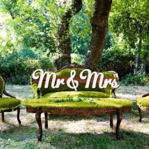 ビッグサイズMr&Mrsフォトプロップス04|weddingdecor