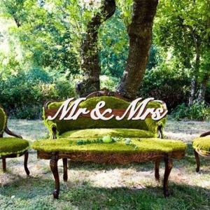 ビッグサイズMr&Mrsフォトプロップス05|weddingdecor