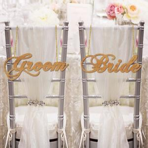 チェアサイン03GroomBride|weddingdecor
