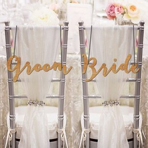 チェアサイン06GroomBride|weddingdecor