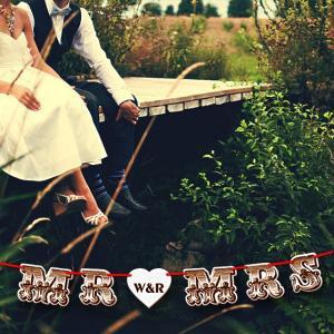 木製ガーランドフォントver02|weddingdecor