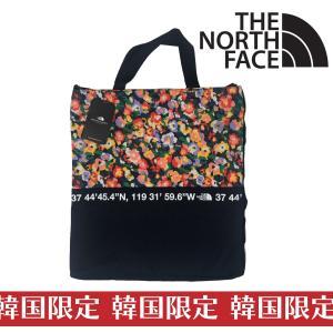 814f7cf99073 韓国限定 ホワイトレーベル ザ・ノースフェイス THE NORTH FACE ライトトート バッグ 花柄