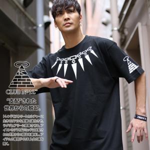 CLUB NO1Z クラブノイズ Tシャツ 鎖デザイン