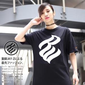 ロカウェア ROCAWEAR Tシャツ 半袖 ティーシャツ ブランドロゴ 定番 モノトーン ビッグシ...