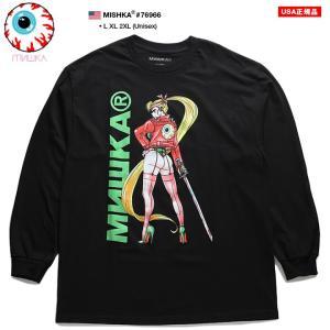 ミシカ MISHKA ロンT ロングスリーブTシャツ 長袖 メンズ 大きいサイズ かっこいい おしゃ...