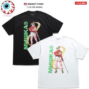 ミシカ MISHKA Tシャツ 半袖 セクシー 大きいサイズ かっこいい おしゃれ アニメ 正義のヒ...