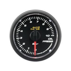 オートゲージ 油圧計 52Φ クリアレンズ ホワイトLED 4 weimall