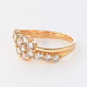 ダイヤモンド リング ダイヤダイヤリング フラ...の詳細画像1