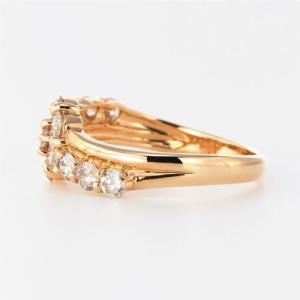 ダイヤモンド リング ダイヤダイヤリング フラ...の詳細画像2