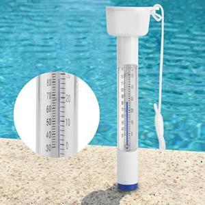 耐久性のある素材と耐衝撃性に優れた高品質 プールとスパの水温を測定し、正確な読みを提供する 華氏と摂...