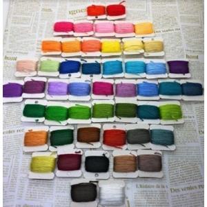 手芸やハンドメイド用のお得な刺繍糸50色50本まとめのセットです。 多用途で刺しゅう初心者の方にもお...