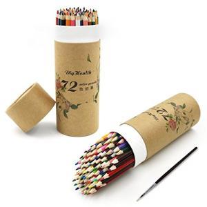 発色は鮮やかで細やかな描きに優れ、折れにくい高品質な色鉛筆(72色セット)です。 色の吸着性は優れて...