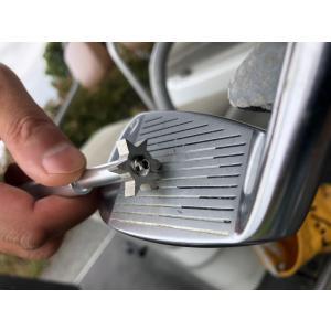 ゴルフ アイアンブラシ メンテナンス用品 クリーニング 溝クリーナー(磨き)清潔用ブラシ 多様途 便...